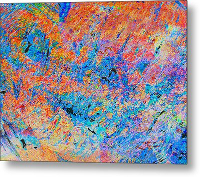 Fire Opal Metal Print by Stephanie Grant