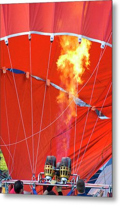Fire Up Metal Print by Brian Roscorla