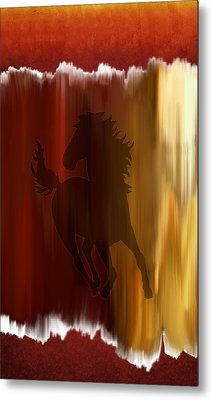 Fire Within Metal Print by Art Spectrum