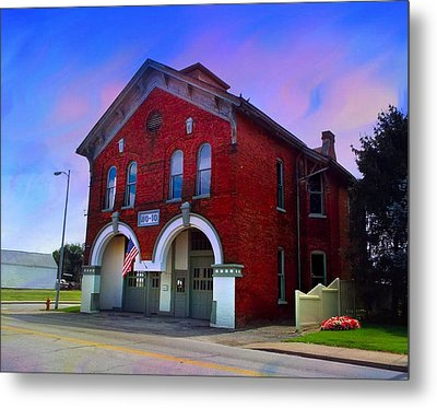Firehouse No 10 Metal Print