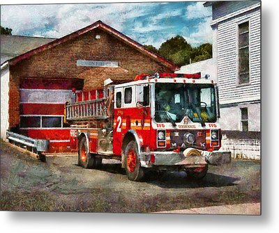 Fireman - Union Fire Company 1  Metal Print