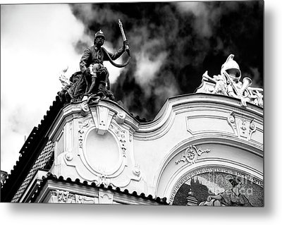 Metal Print featuring the photograph Fireman's Rescue by John Rizzuto