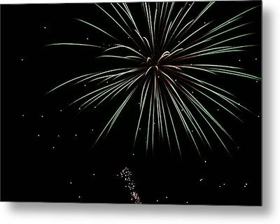 Metal Print featuring the photograph Fireworks 11 by Ron Read