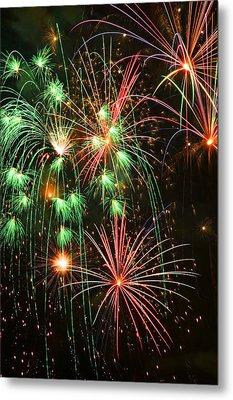 Fireworks 4th Of July Metal Print