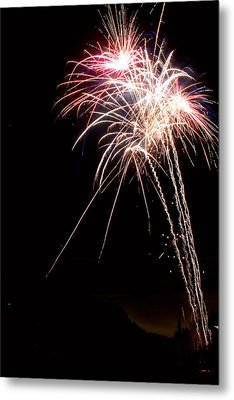 Fireworks 70 Metal Print by James BO  Insogna