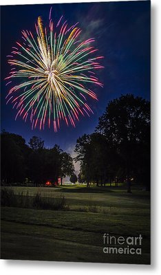 Fireworks Beauty Metal Print
