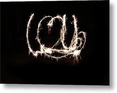 Fireworks Fun Metal Print by Richard Mitchell