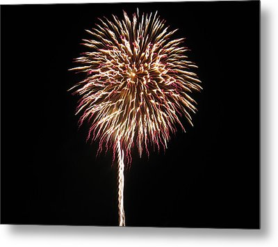 Fireworks Metal Print by Michael Albright
