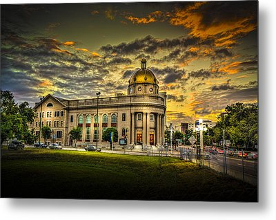 First Baptist Church Of Tampa Metal Print