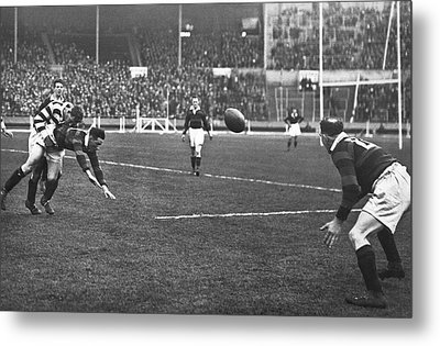 First Challenge Cup At Wembley Metal Print
