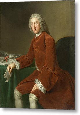 First Earl Of Chatham Metal Print