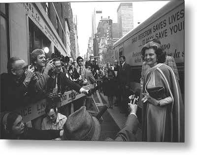 First Lady Betty Ford Became An Metal Print by Everett