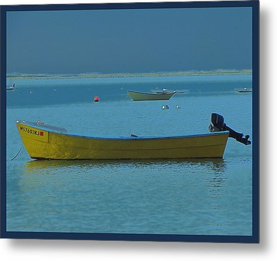first light - Cape Cod Bay Metal Print by Rene Crystal