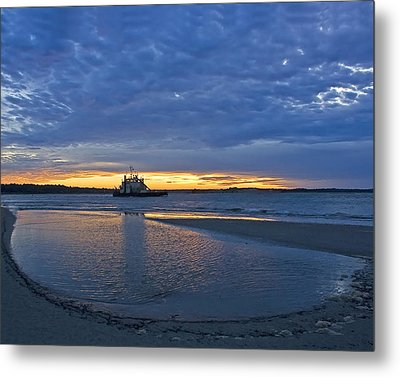 Metal Print featuring the photograph First Light by Alan Raasch