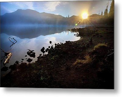Metal Print featuring the photograph Daybreak by Cat Connor