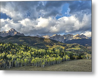 First Light On The Sneffels Range Metal Print