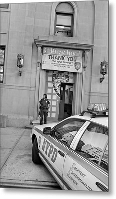 First Precinct Nyc Metal Print by Robert Lacy