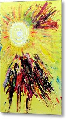 First Sun Metal Print