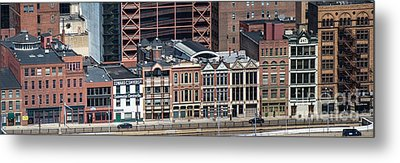 Firstside Historic District Metal Print by Amy Cicconi