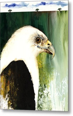Fish Eagle Metal Print by Anthony Burks Sr