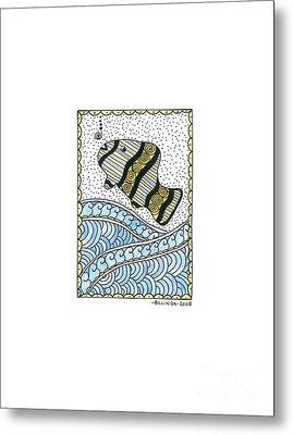 Fish In The Sea Metal Print