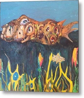 Fish Metal Print by William Douglas
