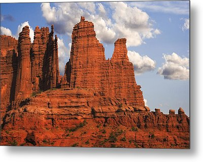 Fisher Towers Metal Print by Utah Images