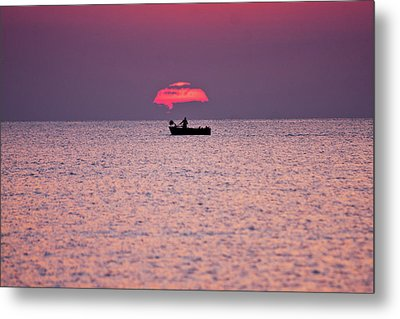 Fisherman Metal Print by Bruno Spagnolo
