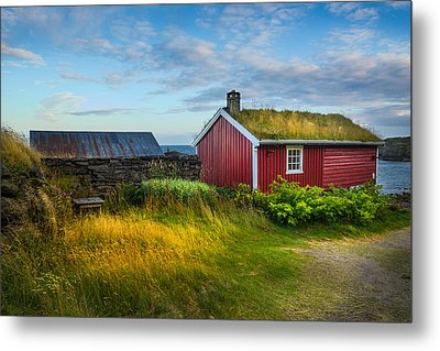 Fisherman House Metal Print