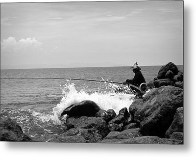 Fisherman Metal Print by Shawna Gibson