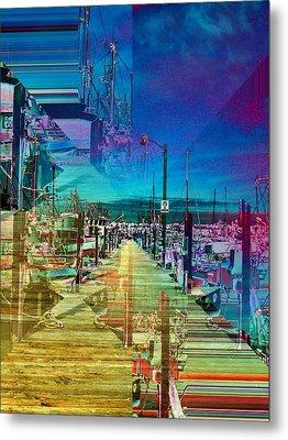 Fishermans Terminal Pier 2 Metal Print by Tim Allen