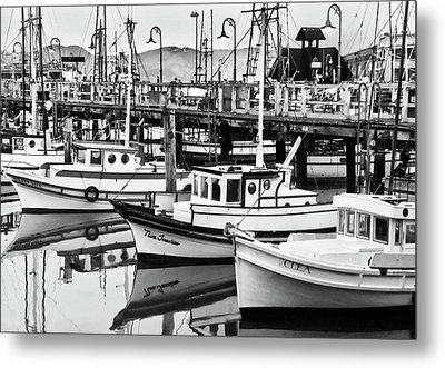 Fishermans Wharf Metal Print