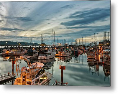 Metal Print featuring the photograph Fishermans Wharf by Randy Hall