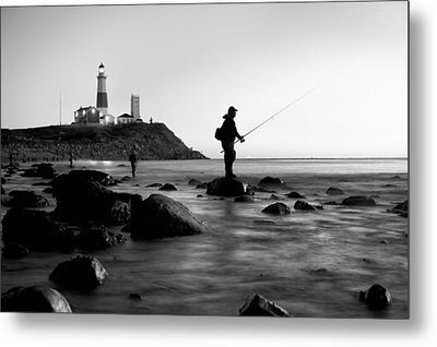 Fishermen's Heart Metal Print by Bernard Chen