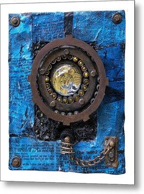 Fisheye Noah Metal Print by Scott Rolfe