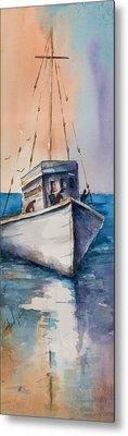 Fishing Boat Metal Print by Mary DuCharme