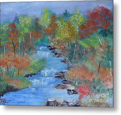 Fishing Creek Metal Print by Denise Tomasura
