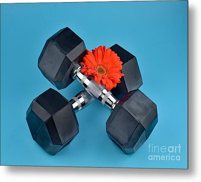 Fitness By Daisy Metal Print by Ray Shrewsberry