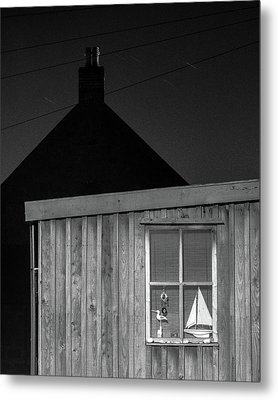 Fittie By Night Metal Print by Dave Bowman