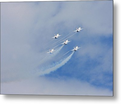 Five High Metal Print by Dave Clark