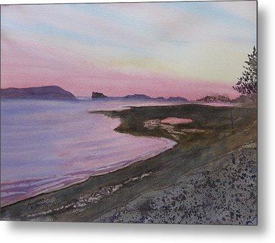 Metal Print featuring the painting Five Islands - Bay Of Fundy by Joel Deutsch