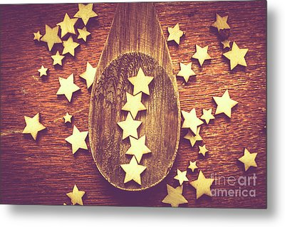 Five Stars Quality Food Service  Metal Print