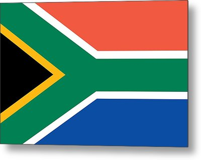 Flag Of South Africa Metal Print by Unknown