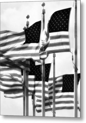 Flags Metal Print by John Gusky