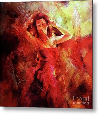 Flamenco Dance 03 Metal Print by Gull G