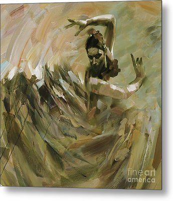 Flamenco Dance 562 Metal Print by Gull G