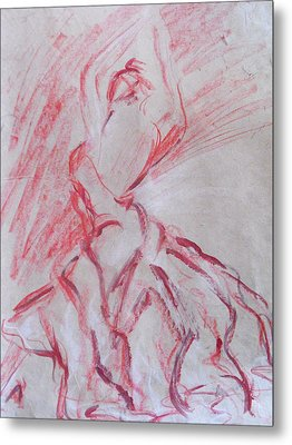 Flamenco Dancer 1 Metal Print