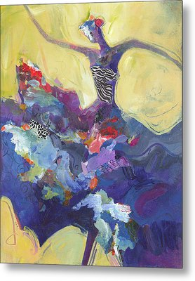 Flamenco Dancer No 5 Metal Print