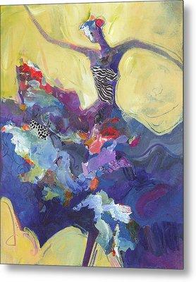 Flamenco Dancer No 5 Metal Print by Shelli Walters