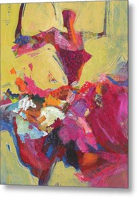Flamenco Dancer Metal Print by Shelli Walters